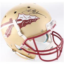 Deion Sanders Signed Florida State Seminoles Full-Size Helmet (Radtke Hologram)