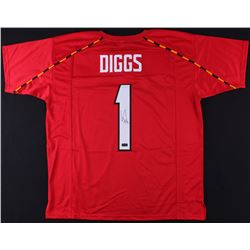 Stefon Diggs Signed Maryland Terrapins Jersey (Radtke COA)