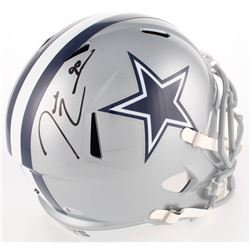 Demarcus Lawrence Signed Cowboys Full-Size Speed Helmet (Beckett COA)