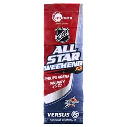 Mike Ribeiro Signed 30x92 2008 NHL All-Star Game Banner (JSA COA)