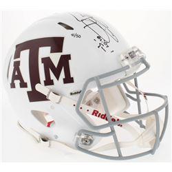 Johnny Manziel Signed Texas AM LE Full-Size Authentic Speed Helmet (Panini COA)