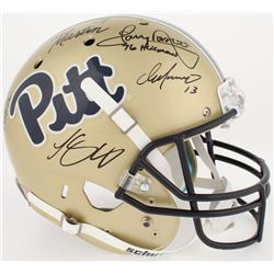Pittsburgh Panthers Greats Full-Size Helmet Team-Signed By (5) With Curtis Martin, Tony Dorsett, Chr