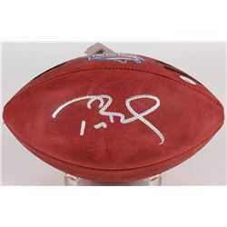 Tom Brady Signed Super Bowl XXXVI NFL Official Game Ball (TriStar Hologram)