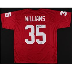 "Aeneas Williams Signed Cardinals Jersey Inscribed ""HOF 14"" (Radtke COA)"