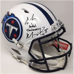Marcus Mariota Signed Titans Limited Edition Full-Size Authentic On-Field Speed Helmet (Steiner COA)