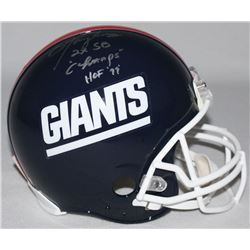 Lawrence Taylor Signed Giants Throwback Limited Edition Full-Size Authentic On-Field Helmet Inscribe