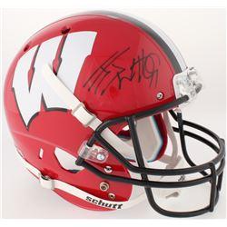 J. J. Watt Signed Wisconsin Badgers Full-Size Helmet (JSA COA  Watt Hologram)