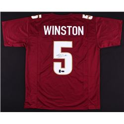 Jameis Winston Signed Florida State Seminoles Jersey (Radtke COA  Jameis Winston Hologram)