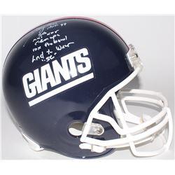 Lawrence Taylor Signed Giants LE Full-Size Helmet With (4) Career Stat Inscriptions (Radtke COA)