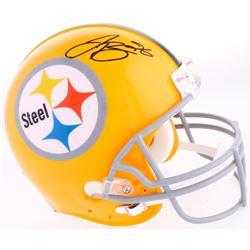 Le'Veon Bell Signed Steelers Throwback Full-Size Helmet (JSA COA)