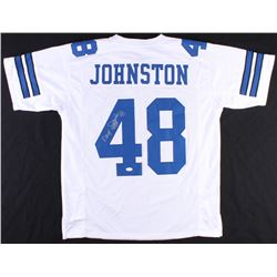"Daryl ""Moose"" Johnston Signed Cowboys Jersey (JSA COA)"