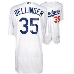 """Cody Bellinger Signed Dodgers Jersey Inscribed """"2017 NL ROY"""" (Fanatics Hologram  MLB Hologram)"""