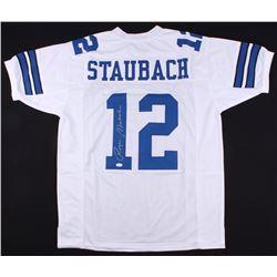 Roger Staubach Signed Cowboys Jersey (JSA COA)
