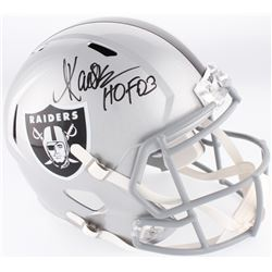 """Marcus Allen Signed Raiders Full-Size Speed Helmet Inscribed """"HOF 03"""" (Allen Hologram)"""