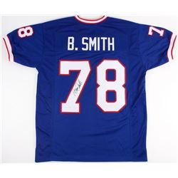 Bruce Smith Signed Bills Jersey (JSA COA)