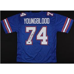 Jack Youngblood Signed Florida Gators Jersey Inscribed  CHOF 1992  (Radtke Hologram)
