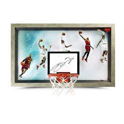 """LeBron James Signed """"Chronology Jam"""" 18.5x30.5 Limited Edition Backboard (UDA COA)"""