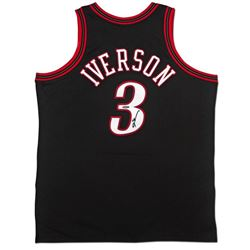 Allen Iverson Signed 76ers 1997-98 Mitchell  Ness Jersey (UDA COA)