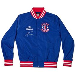 """Allen Iverson Signed """"The Answer"""" Limited Edition Roots of Fight Stadium Jacket (UDA COA)"""