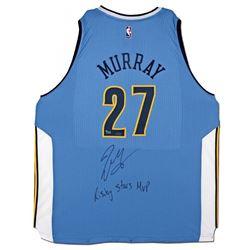 "Jamal Murray Signed Nuggets Adidas Jersey Inscribed ""Rising Stars MVP"" (UDA COA)"