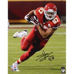 Travis Kelce Signed Chiefs 16x20 Photo (Radtke Hologram)