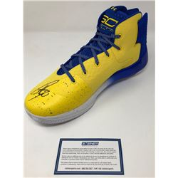 Stephen Curry Signed Curry 3 Under Armor Basketball Shoe (Steiner COA)