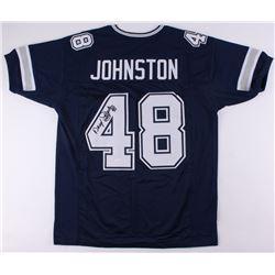 "Daryl ""Moose"" Johnston Signed Cowboys Jersey (JSA COA)"