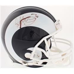 Todd Gurley Signed Rams Full-Size Authentic Helmet (Radtke COA)