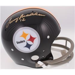Terry Bradshaw Signed Pittsburgh Steelers Throwback Suspension Full-Size Helmet (Bradshaw Hologram