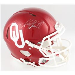 Adrian Peterson Signed Oklahoma Sooners Full-Size Authentic On-Field Speed Helmet (Fanatics Hologram