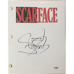 "Steven Bauer Signed ""Scarface"" Movie Full Script (PSA COA)"