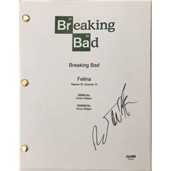 "RJ Mitte Signed ""Breaking Bad"" Episode Full Script (PSA COA)"