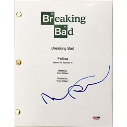"Aaron Paul Signed ""Breaking Bad"" Episode Full Script (PSA COA)"