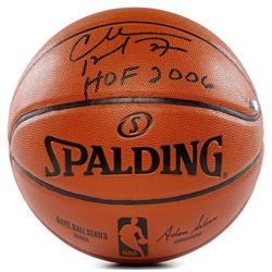 "Charles Barkley Signed NBA Game Ball Series Basketball Inscribed ""HOF 2006"" (Panini COA)"