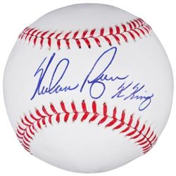 "Nolan Ryan Signed OML Baseball Inscribed ""K King"" (Fanatics Hologram)"