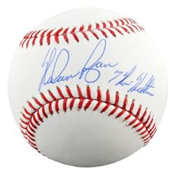 "Nolan Ryan Signed OML Baseball Inscribed ""7 No Hitters"" (Fanatics Hologram)"