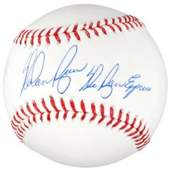 "Nolan Ryan Signed OML Baseball Inscribed ""The Ryan Express"" (Fanatics Hologram)"