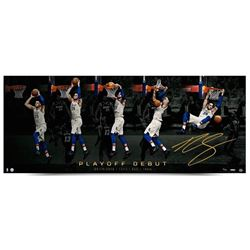 """Ben Simmons Signed 76ers """"Playoff Jam"""" 18x44 Limited Edition Photo (UDA COA)"""