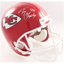 Tony Gonzalez Signed Chiefs Full-Size Helmet (JSA COA  Denver Autographs COA)