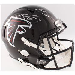 "Michael Vick Signed Falcons Full-Size Speed Helmet Inscribed ""Madden Legend"" (JSA COA)"