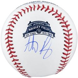 Anthony Rizzo Signed 100th Wrigley Field Baseball (Fanatics Hologram)