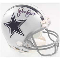 Sean Lee Signed Cowboys Mini-Helmet (Beckett COA)