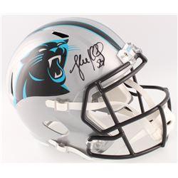 Luke Kuechly Signed Panthers Full-Size Speed Helmet (Beckett COA)