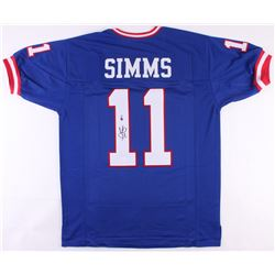 Phil Simms Signed Giants Jersey (JSA COA)