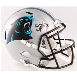 D. J. Moore Signed Panthers Full-Size Speed Helmet (Beckett COA)