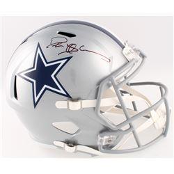 Deion Sanders Signed Cowboys Full-Size Speed Helmet (Beckett COA)
