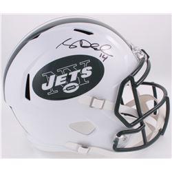 Sam Darnold Signed Jets Full-Size Speed Helmet (Darnold Hologram)