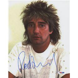 Rod Stewart Signed 8x10 Photo (PSA COA)