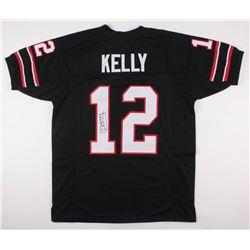 Jim Kelly Signed Gamblers Jersey (JSA COA)