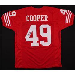Earl Cooper Signed 49ers Jersey (JSA COA)